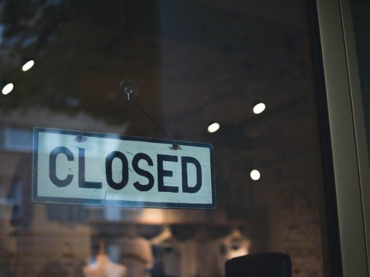 Korte winterstop: gesloten 23 december – 6 januari