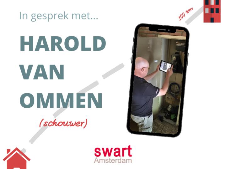 """Schouwer Harold van Ommen: """"Ik gedij hier lekker qua werk – lekkerder dan op de Veluwe"""""""